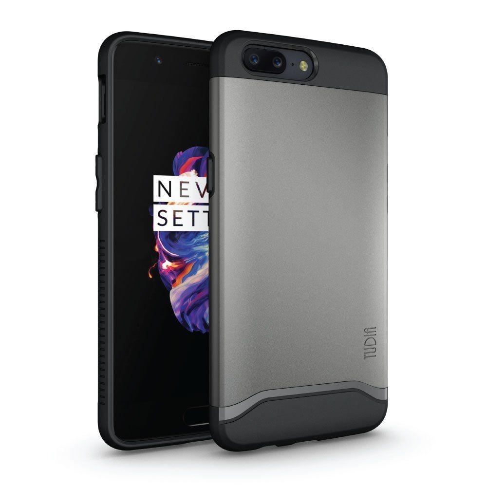OnePlus 5 | Oryginalne Etui TUDIA Merge Metallic Slate