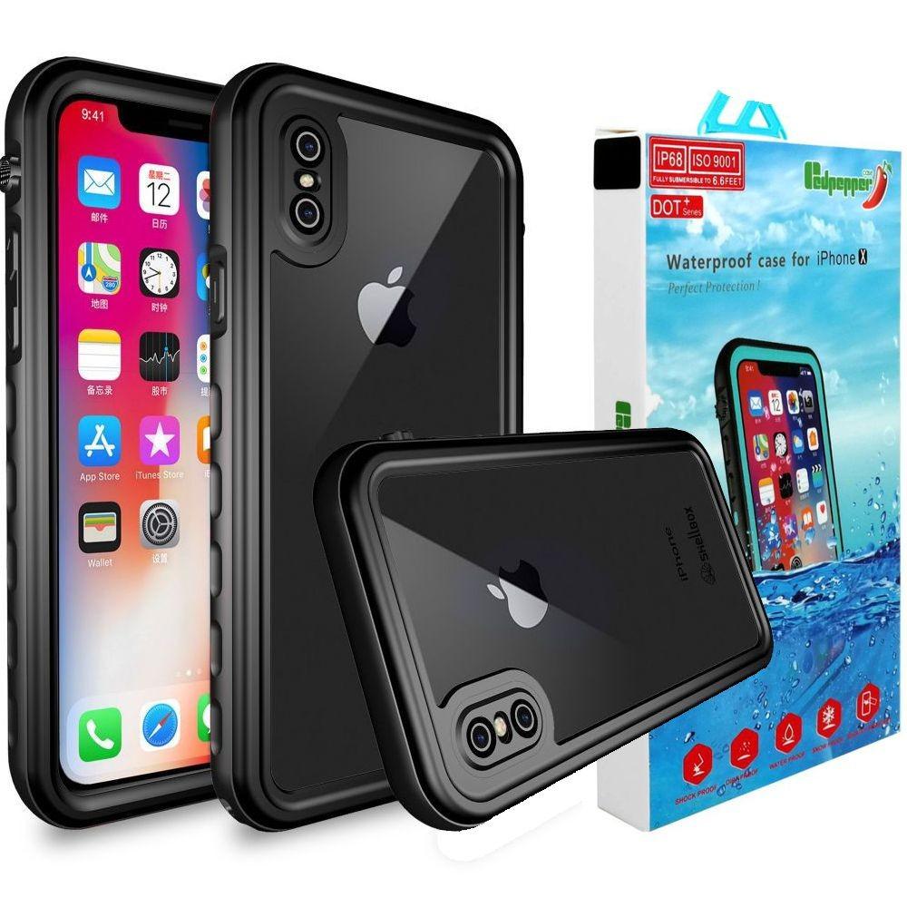 Apple iPhone X/Xs | Wodoszczelne Etui Redpepper IP68