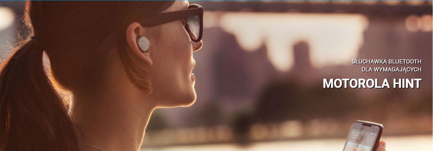 Słuchawka bluetooth dla wymagających - Motorola Hint